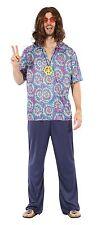 Hippie Herren-Kostüme & -Verkleidungen aus Polyester