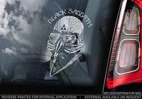 Black Sabbath - Car Window Sticker - Ozzy Osborne Rock Metal Sign CD LP - TYP3