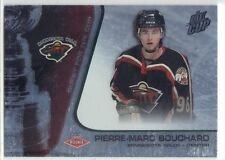 PIERRE-MARC BOUCHARD MINNESOTA WILD 02-03 QUEST FOR THE CUP ROOKIE 029/950 #124
