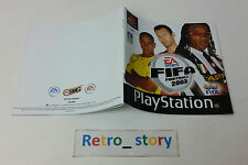 Sony Playstation PS1 FIFA Football 2003 Notice / Instruction Manual