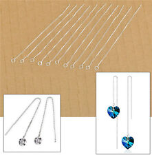 20Pcs Threads Making Jewelry Findings Box Chain Earring Supplies For Crystal