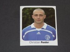 423 PANDER SCHALKE 04 PANINI FUSSBALL 2006-2007 BUNDESLIGA FOOTBALL