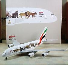 "Gemini Jets Emirates ""Wild Life One"" Airbus A380 1/200"