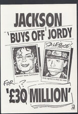 Headline Postcard - Music - Michael Jackson 'Buys Off' Jordy   RR2522