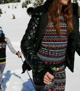Sweaty Betty Ski Betties Seamless Base Layer Top Size S 2272-B13
