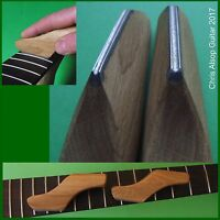 TWO Diamond Guitar Fret Crowning Files.  Choice of 2.0mm, 2.5mm or 3.0mm TF086