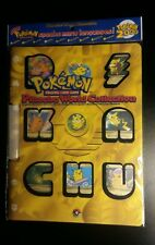 Sealed Original Pokemon 2000 Pikachu World Collection Folder - Mint!