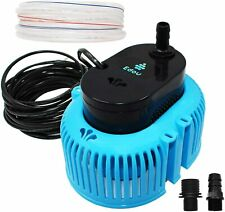 EDOU 850 GPH Swimming Pool Cover Pump-Above Ground-16 Drainage Hose-3 Adpaters