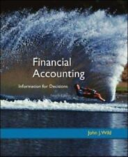 Financial Accounting : Information for Decisions by John J. Wild (2008,...