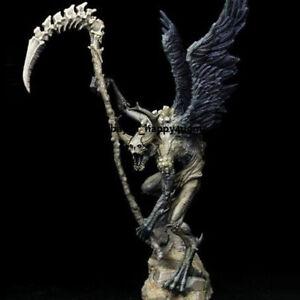 Unassambled 9.0'' High Fantasy Warrior+Wing Resin Figure Model Kits Unpainted GK