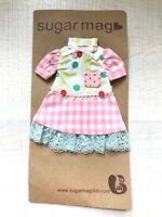 Sugar Mag Cute Patchwork dress blythe 1/6 scale Riley Betsy Licca Azone momoko