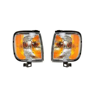 NEW TURN SIGNAL LIGHTS PAIR FITS HONDA PASSPORT 2000-02 IZ2520107 8-97260-013-1
