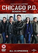 Chicago PD Complete Series 2 DVD All Episodes Second Season Original UK R2 NEW
