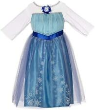 Fancy Halloween Frozen  Elsa Costume Girl Cosplay Party Dress Up Disney size 4-6