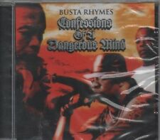BUSTA RHYMES Confessions of a dangerous mind  CD CD ALBUM  NEW - STILL SEALED