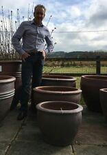 Small Wavy rim garden pots / Frost Proof Planter Patio out door