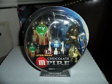 STAR WARS M&M CHOCOLATE- MPIRE QUEEN AMIDALA-C-3PO-R2-D2