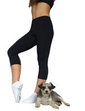 3/4 Length Casual Regular Size Pants for Women
