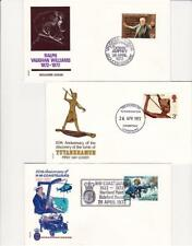 1972 Anniversaries - Philart - Set of Three - Three Different H/S's