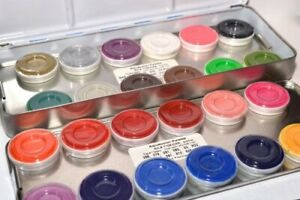 Kryolan Aquacolor Palette Refills Professional Face & Body Paint .25oz Assorted