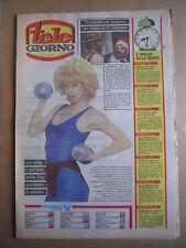TELE GIORNO 20-06-1985 Jinny Steffan  copertina  [G591]