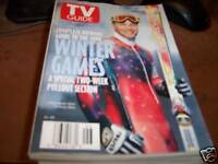 TV Guide 2/7-13 1998 Tommy Moe Gold-Medal Skier