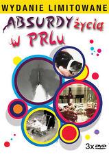 Absurdy zycia w PRLu  (DVD 3 disc) POLISH POLSKI