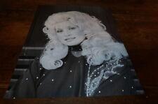 DOLLY PARTON - Mini poster Noir & blanc 2 !!!!!!!!!!!!!!!