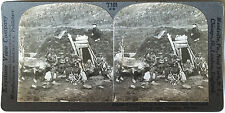 Keystone Stereoview of a Lapp Home & Family in NORWAY from the 1930's T400 Set
