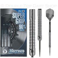Harrows Supergrip 90% Tungsten Steel Tip Darts - Available in 21 - 26 Gram