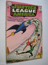 Vintage Old Collectible Justice League DC Comic Book Super Heros #17 VG+