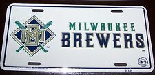 SALE~~MILWAUKEE BREWERS BASEBALL LICENSE PLATE~NEW
