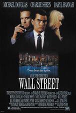 Wall Street cult movie poster print 2