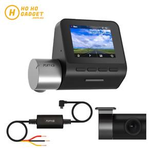 70mai Smart Dash Cam Pro Plus A500S WIFI APP Set Rear Camera Hardware Kit Global
