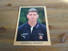 JAROSLAV SILHAVY - TRAINER CZECH REPUBLIC - AUTOGRAPHCARD **
