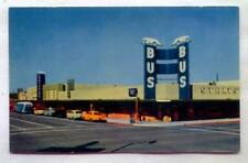 Greyhound Bus Terminal First St & East Van Buren Phoenix ARIZONA *1950s*