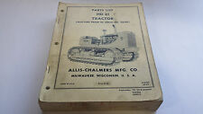 Allis-Chalmers Parts List HD 21 Tractor (Tractors Prior to Serial No. 12501)
