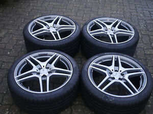 4 Reifen auf Alufelgen Mercedes W197 SLS-Klasse  AMG A1974010302 A1974010202