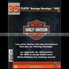 HARLEY-DAVIDSON MOTORCYCLES N°35 ★ FLSTN 1340 HERITAGE NOSTALGIA (1993) ★