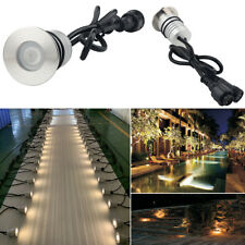 DMX512 Led Fountain Pool Lighting 3W IP68 Underwater Lights Outdoor Buried Lamps