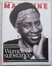 Women of substance – Observer magazine – 21 September 2014