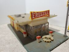 Ho Scale Life-Like Buildems Freezee Ice Cream Drive In No. S-359