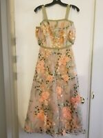 NWT ~$1100. Marchesa Notte Dress. Floral. Size 2. Cocktail/Party/Wedding