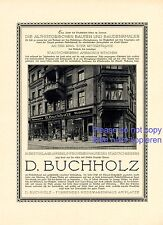 Fashion Buchholz Legnica XL 1923 German ad Liegnitz advertising ad +