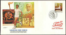 Yugoslavia 1988 Olympic Games, Lighting The Torch FDC First Day Cover #C26500