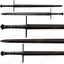 "Cold Steel MAA Hand-And-A-Half Sword 42.5"" Leather Scabbard 1055 Carbon 88HNHM"