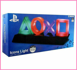 LAMPADA Play Station SONY △○x□ LED MULTICOLORE ORIGINALE PP4140PS