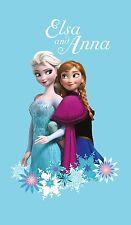 Disney Frozen Il Regno Di Ghiaccio Anna & Elsa Asciugamano Telo Da Bagno 70x120