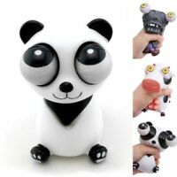 Funny Cartoon Animal Squeeze Toy Out Eyes Doll Stress Relief Rubber Toy QL