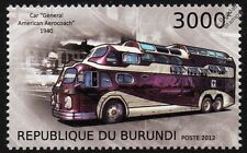 PEACEMAKER General American Aerocoach / GMC Scenicruiser Hybrid Bus Stamp (2012)